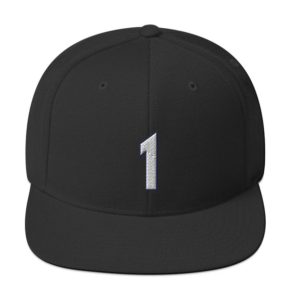 Tracy McGrady #1 Snapback Hat-Player Number Hat-Coverage Gear