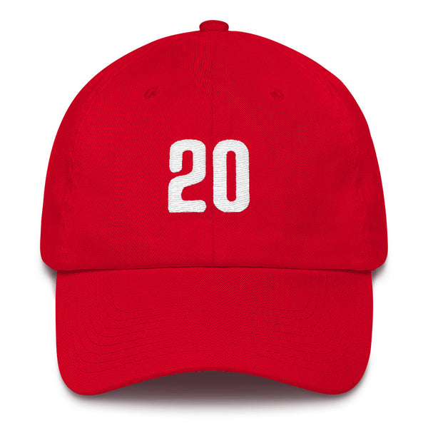 Mike Schmidt #20 Dad Hat-Player Number Hat-Coverage Gear