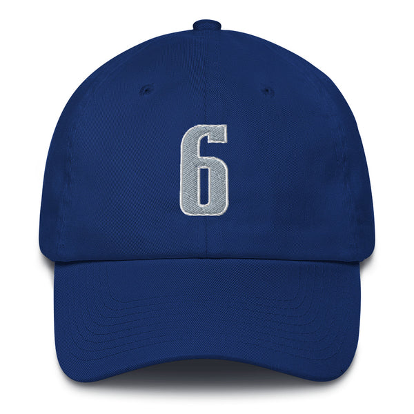 Kristaps Porzingis #6 Dad Hat-Player Number Hat-Coverage Gear