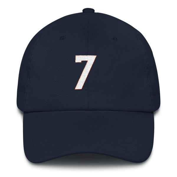 John Elway #7 Dad Hat-Player Number Hat-Coverage Gear