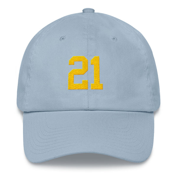 LaDainian Tomlinson #21 Dad Hat-Player Number Hat-Coverage Gear