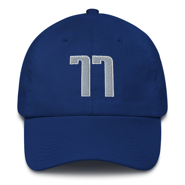 Luca Doncic #77 Dad Hat-Player Number Hat-Coverage Gear