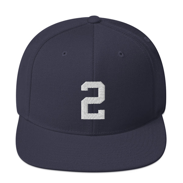 Derek Jeter #2 Snapback Hat-Player Number Hat-Coverage Gear
