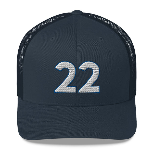 Andrew Wiggins #22 Trucker Cap-Player Number Hat-Coverage Gear