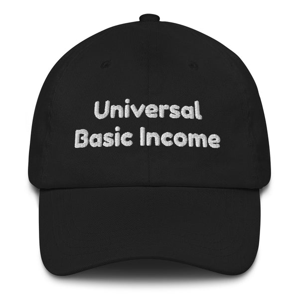 Universal Basic Income Dad Hat