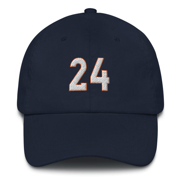 Champ Bailey #24 Dad hat