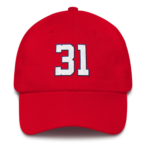 Max Scherzer #31 Dad Hat-Player Number Hat-Coverage Gear