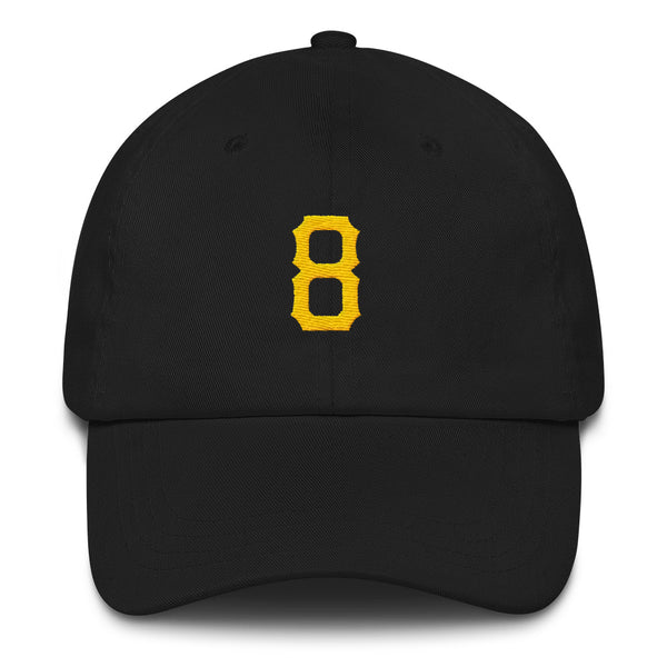 Willie Stargell #8 Dad Hat-Player Number Hat-Coverage Gear