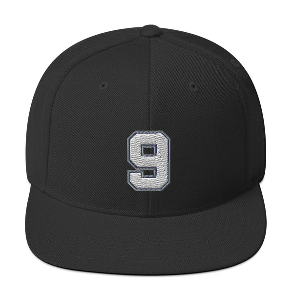 Tony Parker #9 Snapback Hat-Player Number Hat-Coverage Gear