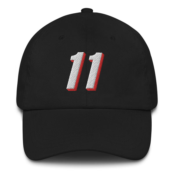 Arvydas Sabonis #11 Dad Hat-Player Number Hat-Coverage Gear
