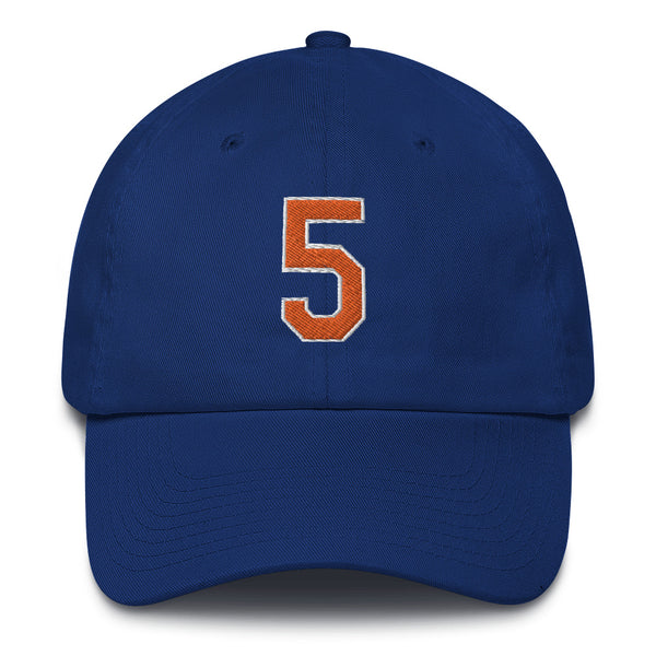 David Wright #5 Dad Hat-Player Number Hat-Coverage Gear