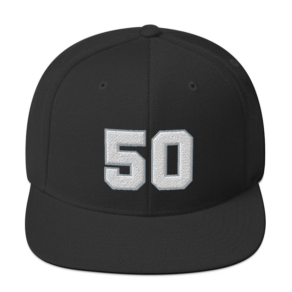 David Robertson #50 Snapback Hat-Player Number Hat-Coverage Gear