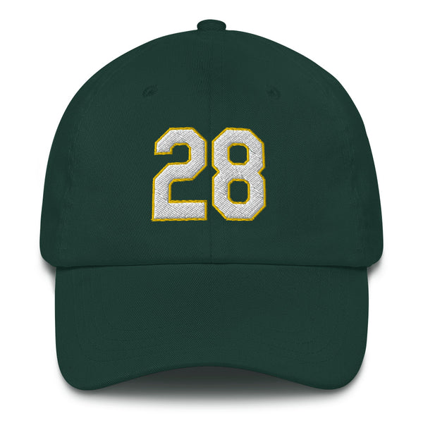 Matt Olson #28 Dad hat-Player Number Hat-Coverage Gear