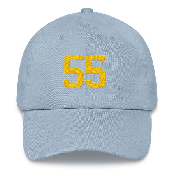 Junior Seau #55 Dad Hat-Player Number Hat-Coverage Gear