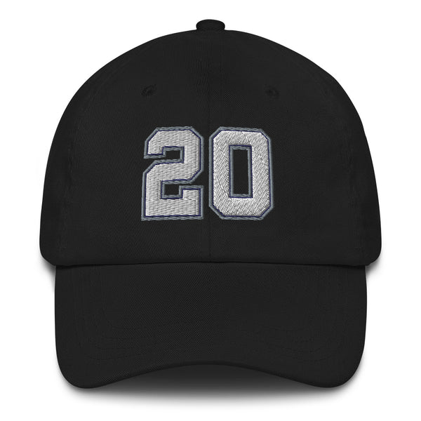 Manu Ginobili #20 Dad Hat-Player Number Hat-Coverage Gear