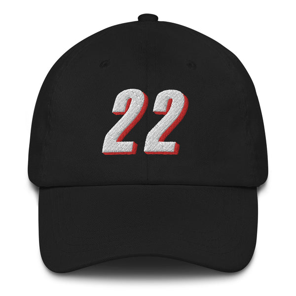 Clyde Drexler #22 Dad Hat-Player Number Hat-Coverage Gear