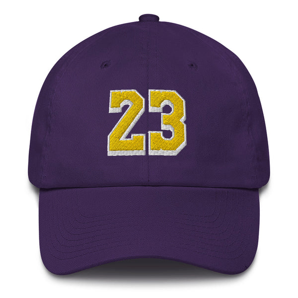 LeBron James #23 Dad Hat-Player Number Hat-Coverage Gear