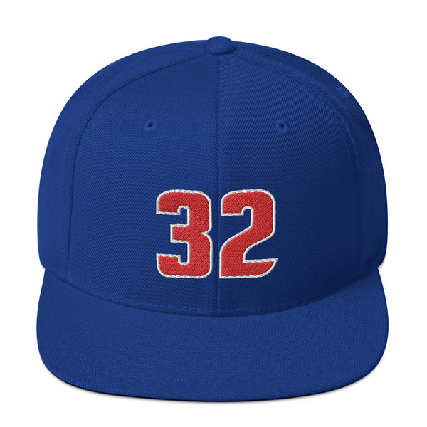 Richard Hamilton #32 Snapback Hat-Player Number Hat-Coverage Gear