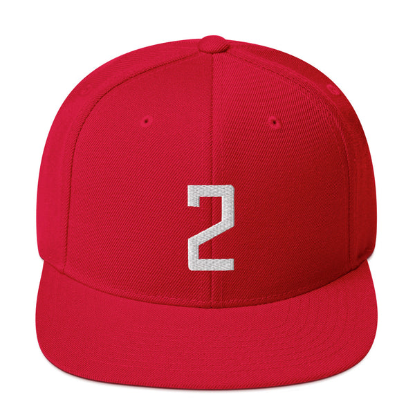 Kawhi Leonard #2 Snapback Hat-Player Number Hat-Coverage Gear
