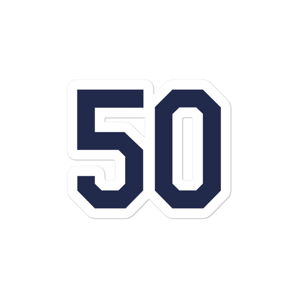 Charlie Morton #50 Sticker