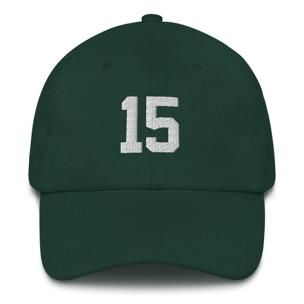 Bart Starr #15 Dad hat