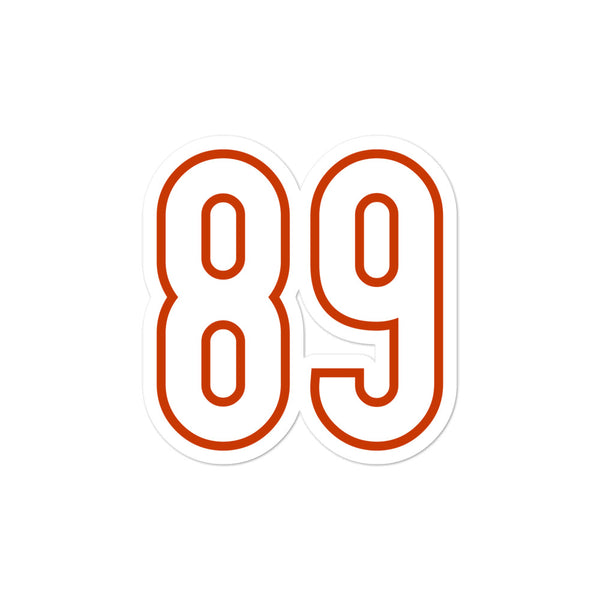 Mike Ditka #89 Sticker
