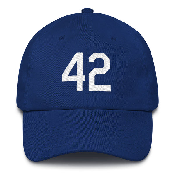 Jackie Robinson #42 Dad Hat-Player Number Hat-Coverage Gear