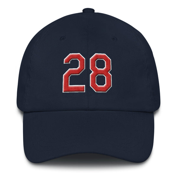 Corey Kluber #28 Dad Hat-Player Number Hat-Coverage Gear