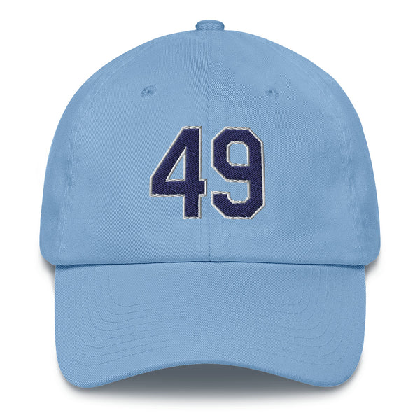 Brendan McKay #49 Dad Hat-Player Number Hat-Coverage Gear