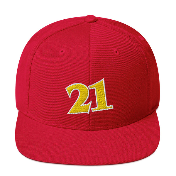 Dominique Willkins #21 Snapback Hat-Player Number Hat-Coverage Gear