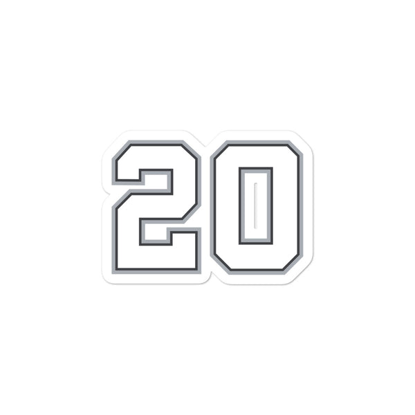 Manu Ginobili #20 Sticker
