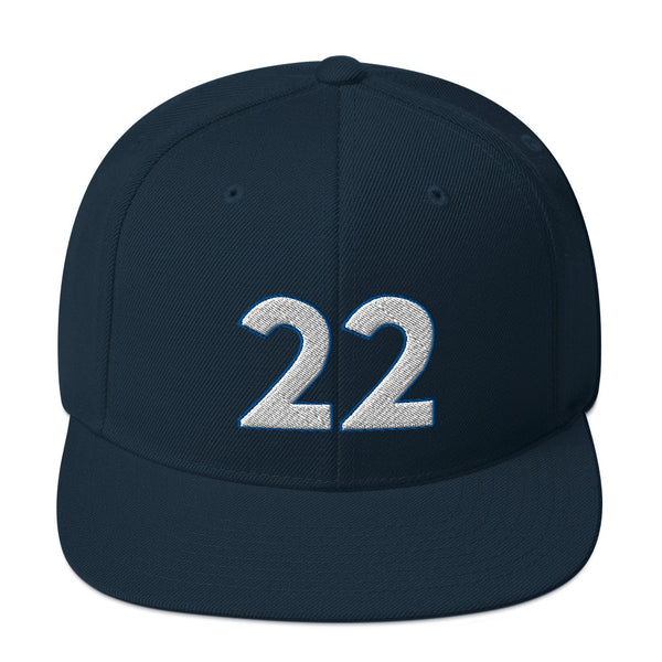 Andrew Wiggins #22 Snapback Hat-Player Number Hat-Coverage Gear