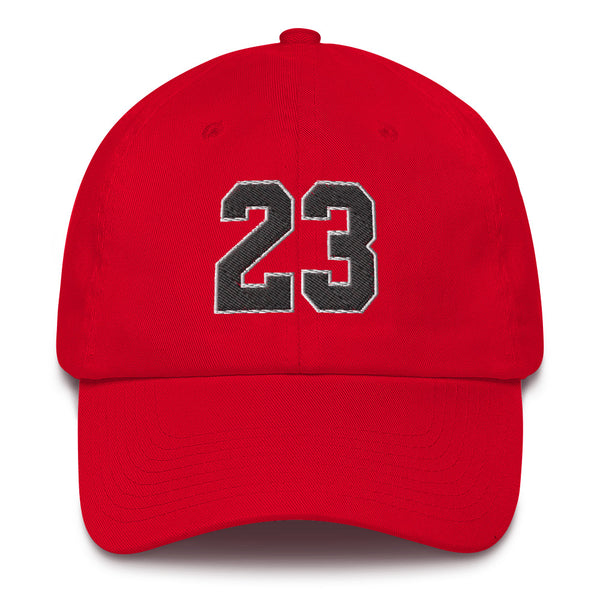 Michael Jordan #23 Dad Hat-Player Number Hat-Coverage Gear