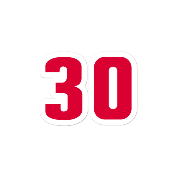 Rasheed Wallace #30 Sticker