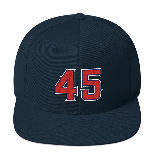 Tyler Skaggs #45 Snapback Hat-Player Number Hat-Coverage Gear