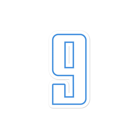 Steve McNair #9 Sticker