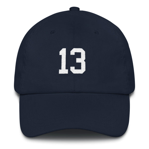 Alex Rodriguez #13 Dad Hat-Player Number Hat-Coverage Gear