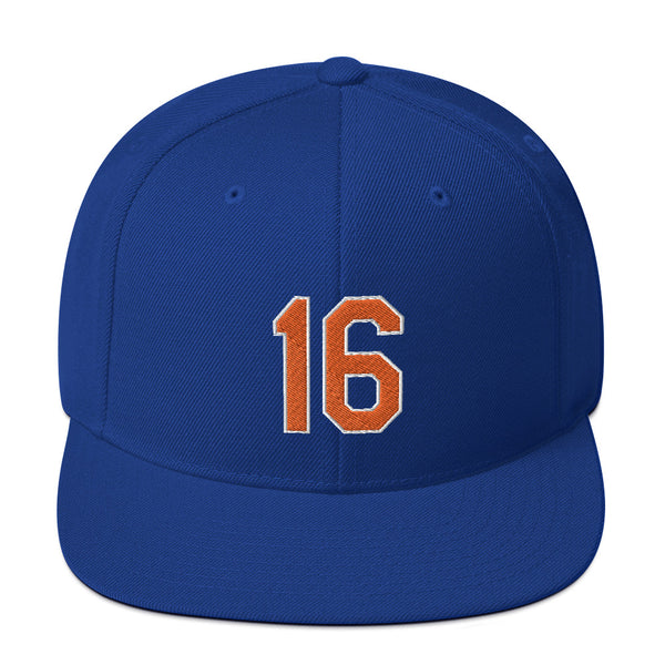 Dwight Gooden #16 Snapback Hat-Player Number Hat-Coverage Gear