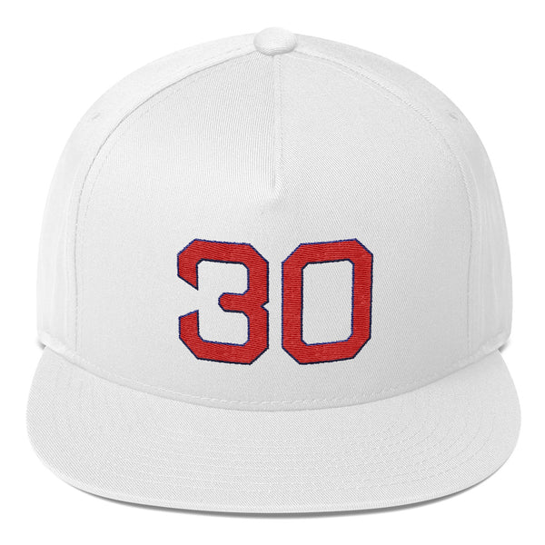 Nolan Ryan #30 Snapback Hat-Player Number Hat-Coverage Gear