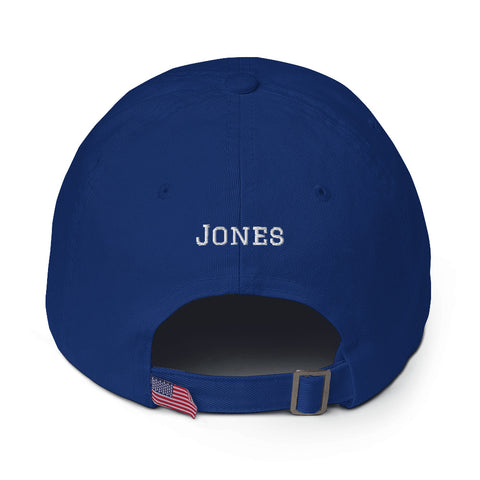 Daniel Jones #8 Dad Hat