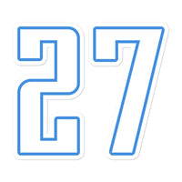 Eddie George #27 Sticker