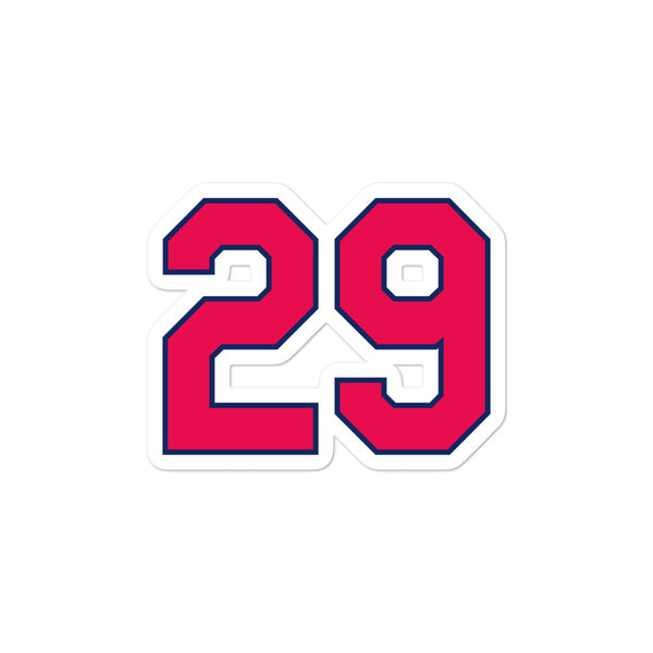 Rod Carew #29 Sticker