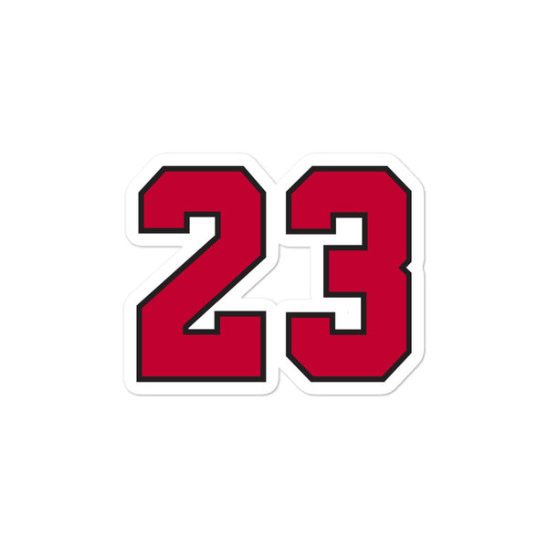 Michael Jordan #23 Sticker