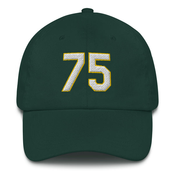 Barry Zito #75 Dad hat-Player Number Hat-Coverage Gear