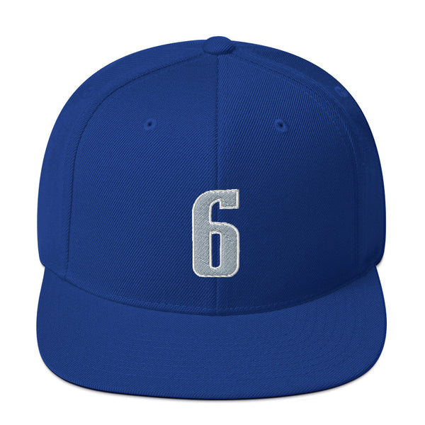Kristaps Porzingis #6 Snapback Hat-Player Number Hat-Coverage Gear