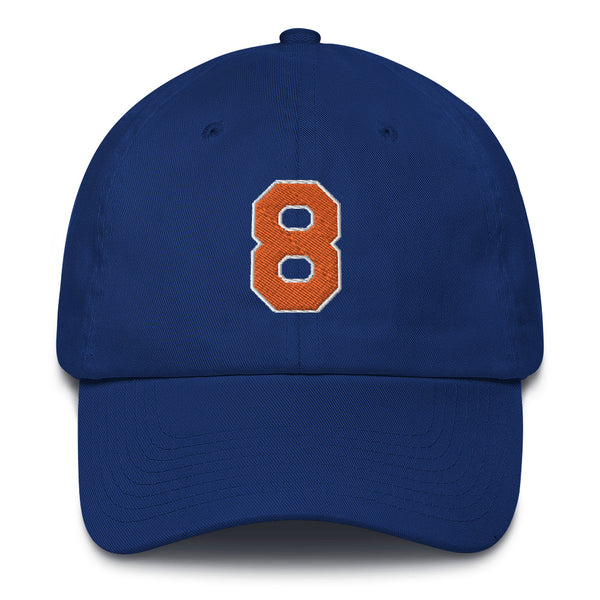 Latrell Sprewell #8 Dad Hat-Player Number Hat-Coverage Gear