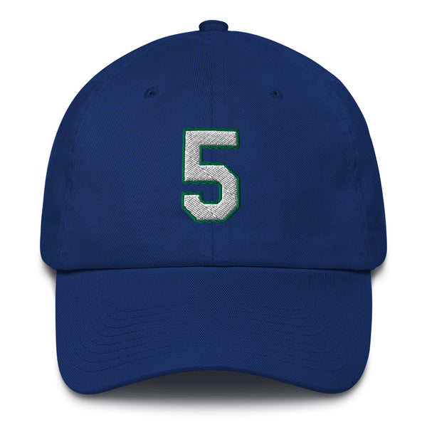 Jason Kidd #5 Dad Hat-Player Number Hat-Coverage Gear
