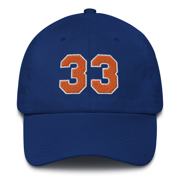 Patrick Ewing #33 Dad Hat-Player Number Hat-Coverage Gear