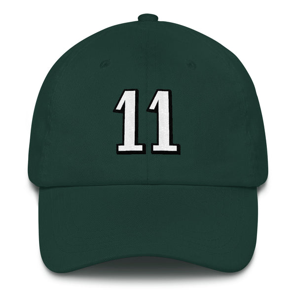 Carson Wentz #11 Dad Hat-Player Number Hat-Coverage Gear