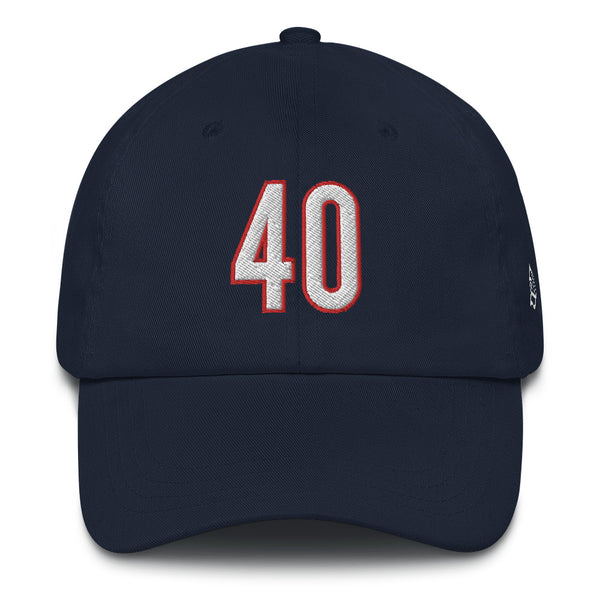 Gale Sayers #40 Dad Hat